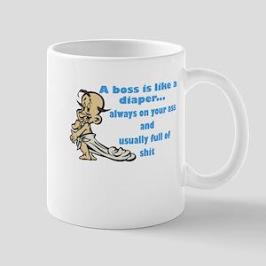 Boss Diaper Mug