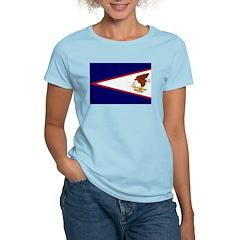 American Samoa Flag Women's Light T-Shirt