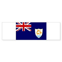 Anguilla Flag Sticker (Bumper 50 pk)