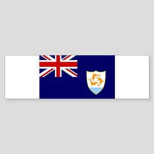 Anguilla Flag Sticker (Bumper)