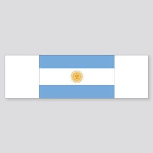 Argentina Flag Sticker (Bumper)