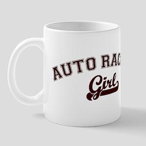Auto Racing girl Mug