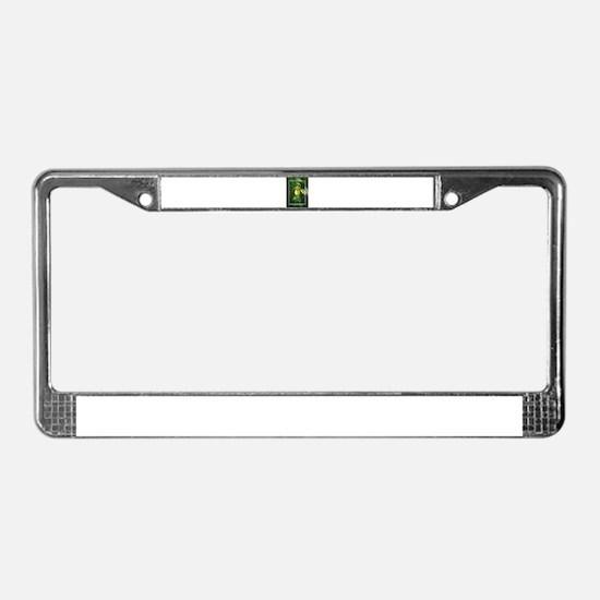 Lady Slipper Beauty License Plate Frame