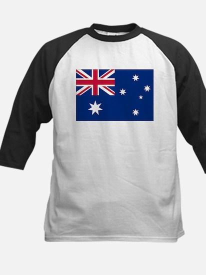 Australia Flag Kids Baseball Jersey