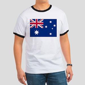 Australia Flag Ringer T