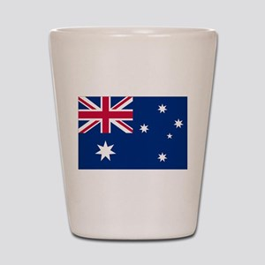 Australia Flag Shot Glass