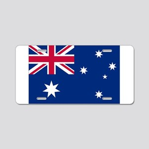 Australia Flag Aluminum License Plate