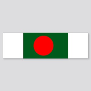 Bangladesh Flag Sticker (Bumper)