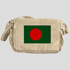 Bangladesh Flag Messenger Bag