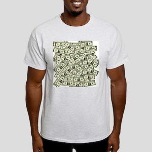 Money! $100 to be exact! Ash Grey T-Shirt