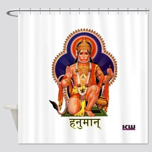 KW HANUMAN Shower Curtain