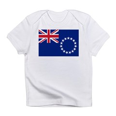 Cook Islands Flag Infant T-Shirt