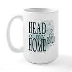Head of my Home (Green) Large Mug