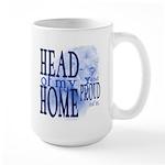 Head of my Home (Blue) Large Mug