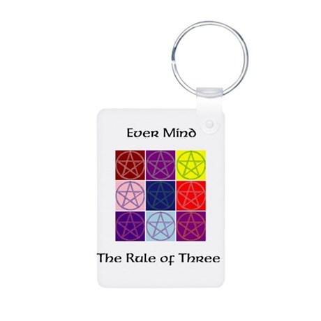 The Rule of 3 Keychain