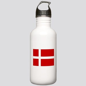 Denmark Flag Stainless Water Bottle 1.0L