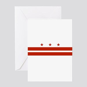 District of Columbia Flag Greeting Card