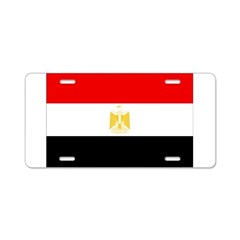 Egypt Flag Aluminum License Plate