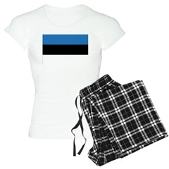 Estonia Flag Pajamas