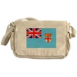 Fiji Flag Messenger Bag