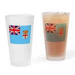 Fiji Flag Drinking Glass