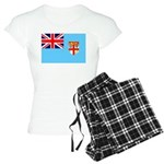 Fiji Flag Women's Light Pajamas