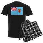 Fiji Flag Men's Dark Pajamas