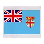 Fiji Flag Throw Blanket