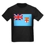 Fiji Flag Kids Dark T-Shirt
