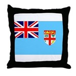 Fiji Flag Throw Pillow