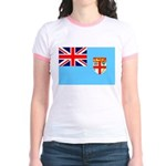 Fiji Flag Jr. Ringer T-Shirt