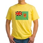Fiji Flag Yellow T-Shirt