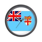 Fiji Flag Wall Clock