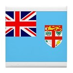 Fiji Flag Tile Coaster