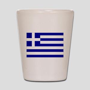 Greece Flag Shot Glass