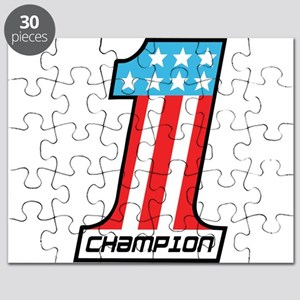 Number 1 Champion Puzzle