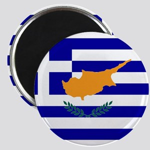 Greek Cyprus Flag Magnet