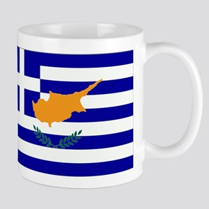 Greek Cyprus Flag Mug