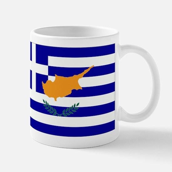 Greek Cyprus Flag Mug