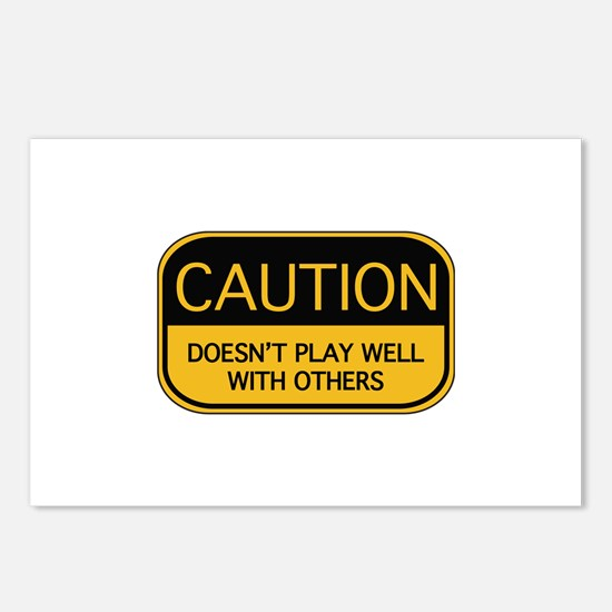 CAUTION Postcards (Package of 8)