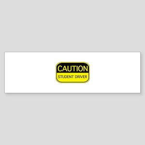 CAUTION Student Driver Sticker (Bumper)