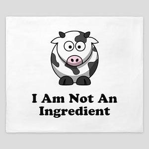 Ingredient Cow King Duvet