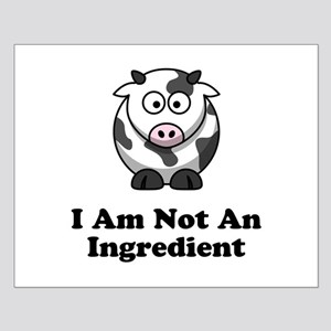 Ingredient Cow Small Poster
