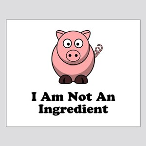 Ingredient Pig Small Poster