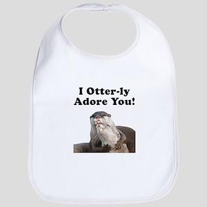 Otterly Adore Bib