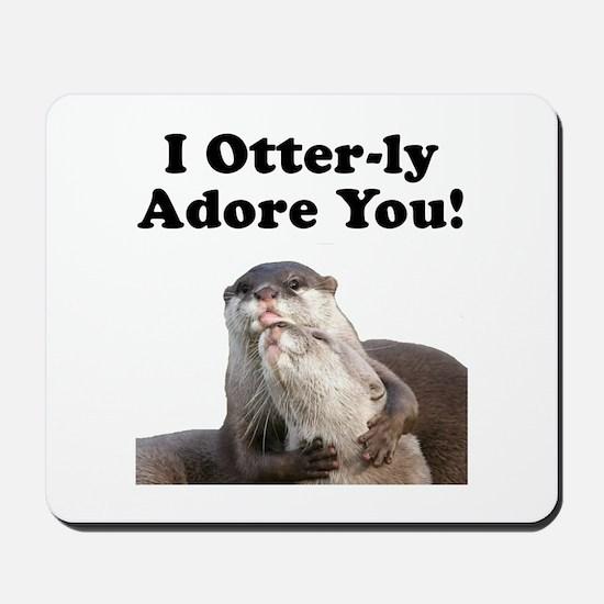 Otterly Adore Mousepad