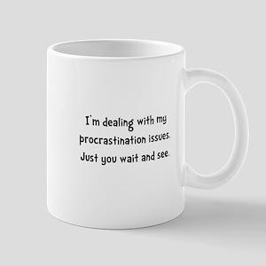 Procrastination Issues Mug