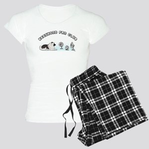 Keeshond Fan Club Women's Light Pajamas