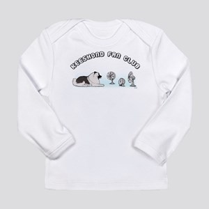 Keeshond Fan Club Long Sleeve Infant T-Shirt