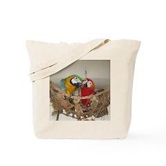 Maui (Scarlet) Korbel (BG) Tote Bag